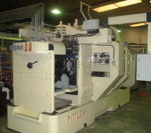 Machine Pitler apres reconstruction