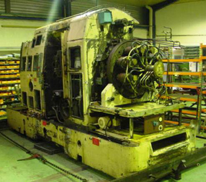machine outil reconstruction